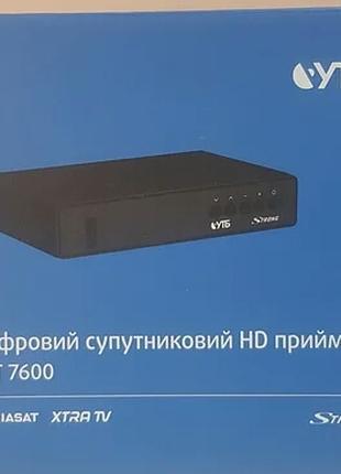 Спутниковый ресивер Viasat Box STRONG SRT 7600 1 Тюнер