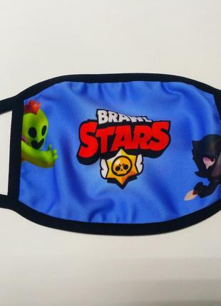 Маска на лицо Brawl Stars
