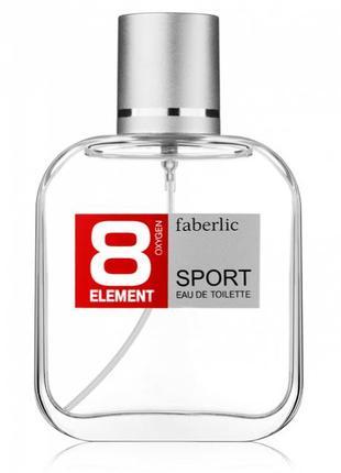 Туалетная вода мужская 8 Element Sport 8 Элемент Спорт Фаберлик