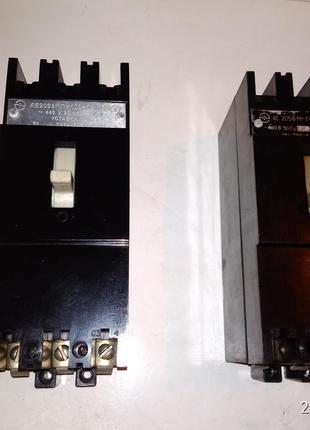 Автоматический выключатель АЕ 2056 МП-100 31,5 А,63А