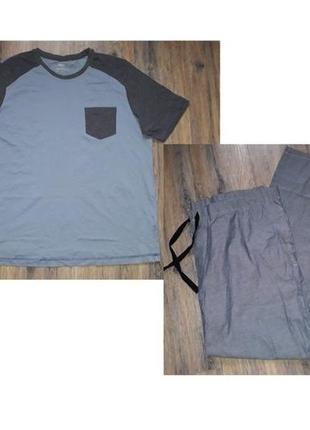 Пижама домашний комплект livergy германия р. 2xl 60 62