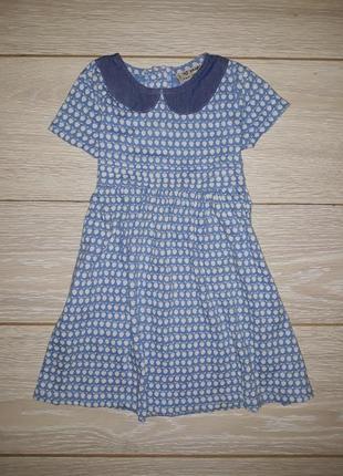 Милое платье next на 2-3 года 2014г