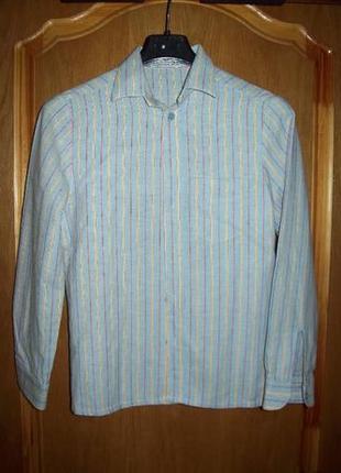Рубашки на мальчика для школы (р. 134/140)