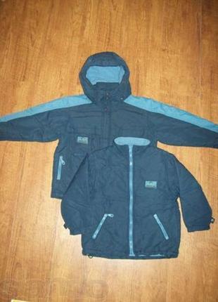 Курточка Bilemi (Германия) на мальчика 3 в 1 (р. 104-110)