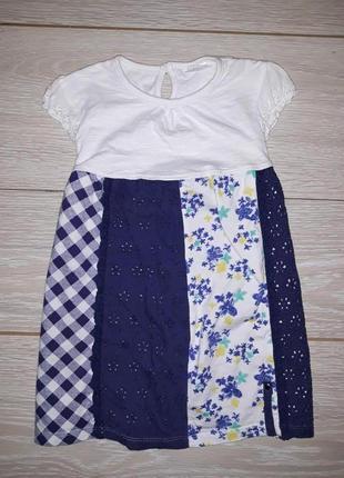 Милое платье f&f на 1,5-2,0 года