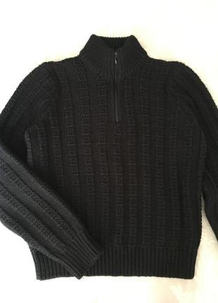 Тёплый свитер, джемпер на мальчика ~10-12 лет.