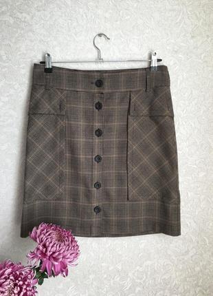 Красивая стильная юбка от zara. размер м