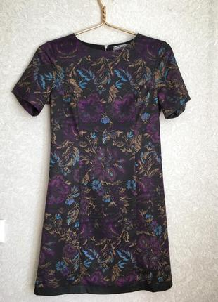 Красивое платье с кожаным низом от бренда axel.