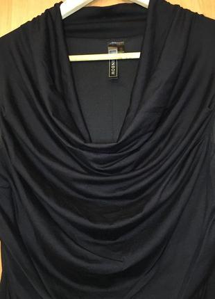 Чёрное нарядное платье s-m размер