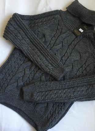 Стильный свитер свитерок с шерстью в стиле zara
