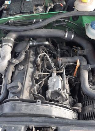 Мотор 1.9 TDI audi a4 b5