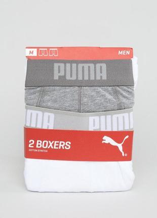 Оригинал набор 2 шт трусы боксеры boxers puma р-р s, xl