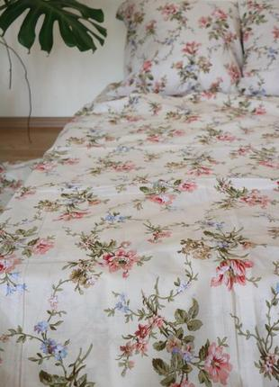 Двухспальный комплект постельного белья из бязь голд 💯 хлопок