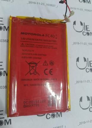 Аккумулятор FC40 оригинальная Motorola Moto G3 (XT1541)