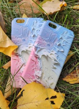 3D Чехол бампер на айфон 6, 6s, 7