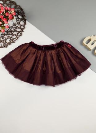 Очень красивая, пышная юбка на 1-1.5 года, будет на 2-3 года.