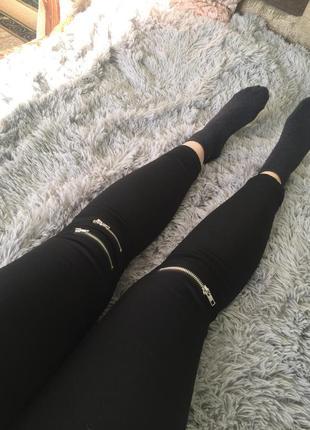 Стильные женские штаны джегинсы новые