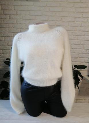 Шикарный свитер из ангоры