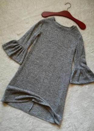 Платье свободного кроя в стиле chanel