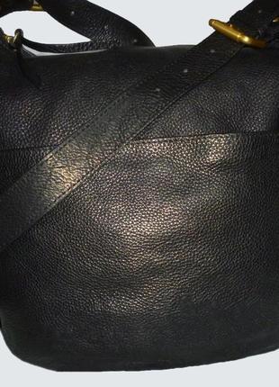 Стильная вместительная сумка натуральная кожа john lewis
