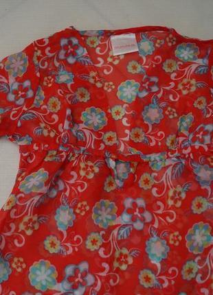 Блуза на девочку  6-7 лет
