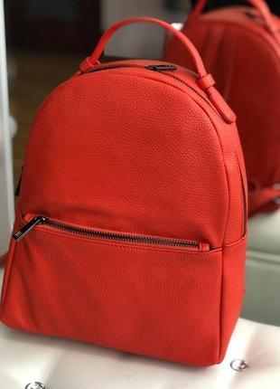 Лёгенький и практичный кожаный рюкзак