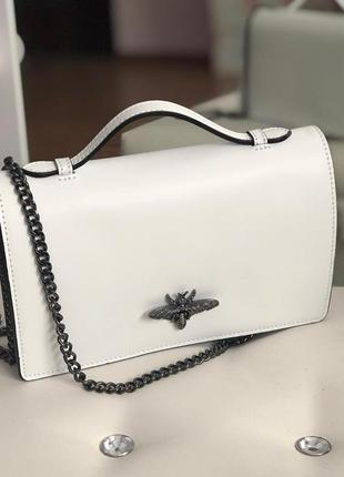 Женская сумочка-клатч из натуральной кожи