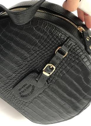 Красивая, модная сумочка из новой коллекции genuine leather