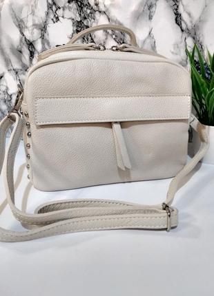Лёгенькие, вместительные и красивые сумочки из натуральной кожи.