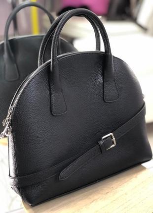 Оригинальная сумка из натуральной кожи genuine leather италия