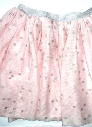Фатиновая юбка пышная h&m 6-7 лет (т.52-90, дл.35)