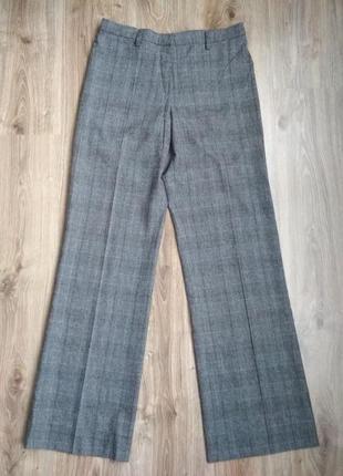 Шикарные теплейшие брюки в клетку от gunex (brunello cucinelli)