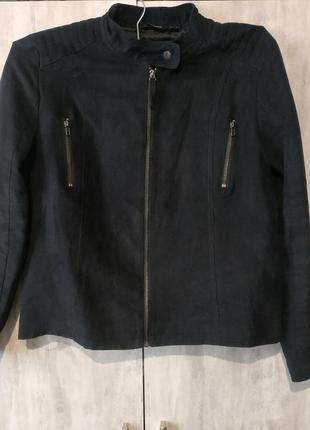 Куртка-пиджак экозамш