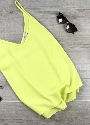 Актуальная  майка/блуза лимонного цвета 2xl george