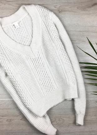 Актуальный свитер/джемпер с v-образним вырезом h&m