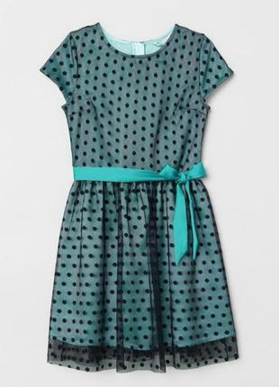 Нарядное платье h&m праздничное платье для девочки
