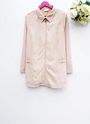 Стильный пиджак легкий жакет большой размер батал