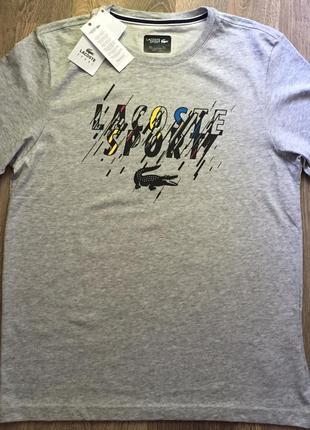 Lacoste мужская футболка.оригинал