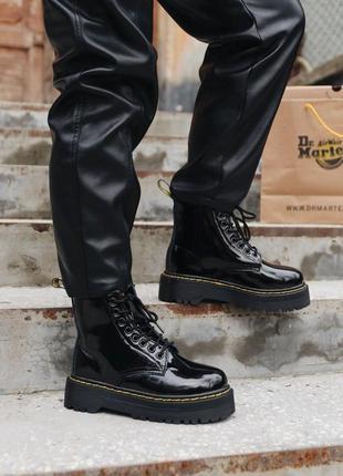 Распродажа! женские зимние кожаные ботинки/ сапоги dr. martens...