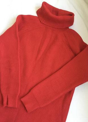 Вязаное платье свитер плотной вязки