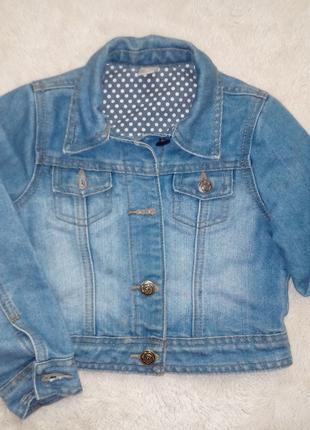Куртки на девочку 4-7 лет