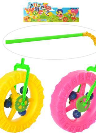 Детская каталка на палочке колесо 1289