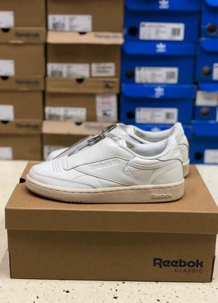 Сникерсы reebok club c 85 zip / оригинал