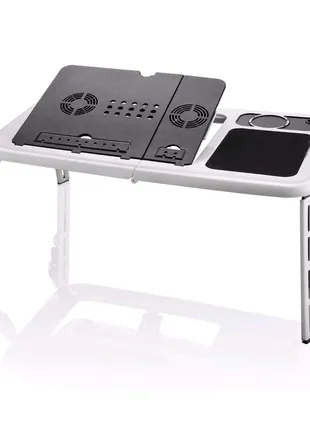 Портативный раскладной столик для ноутбука E-Table