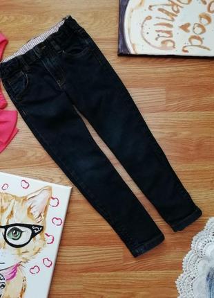 Детские узкие актуальные мягкие джинсы для девочки lindex - ро...