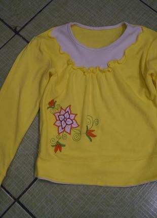 Кофточка на девочку 6-7 лет