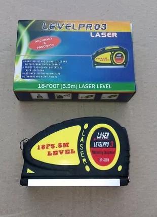 Лазерный уровень строительный рулетка Рівень будівельний лазерний