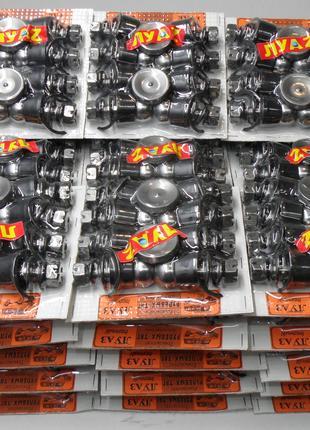 Ремкомплект рулевых тяг ЛУАЗ ЗАЗ 968 запорожец пальцы шкворня