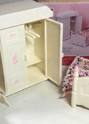 Набор мебели Happy Family Спальня для флоксовых животных