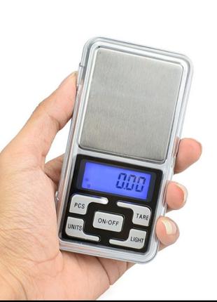 Весы электронные ювелирные точные аптечные для дроби пороха ваги